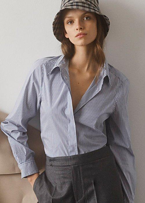 Skjorte Sofi small stripe - Graumann
