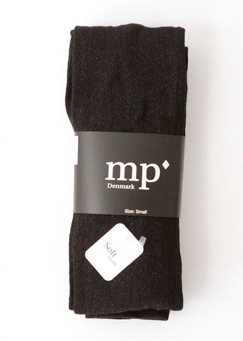 Strømpebukser sort glimmer - MP Strømper