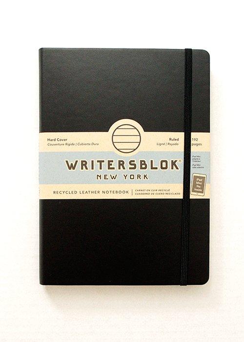 Notesbog sort - Writers blok NY