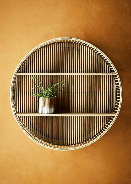 Rund bambusreol ø60 cm