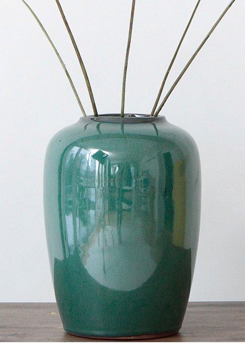 Keramik vase green - Broste
