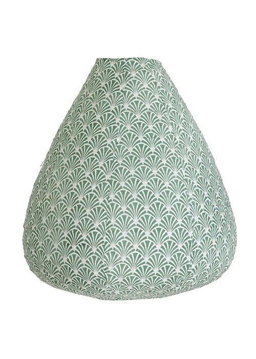 Lampeskærm balloon lindegrøn - Bungalow