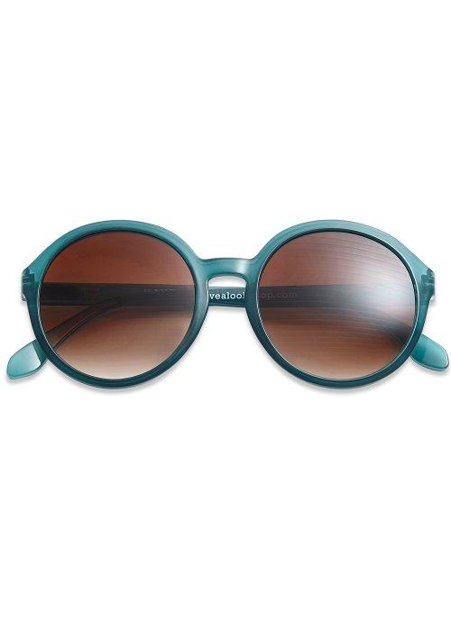 Solbriller Diva petrol