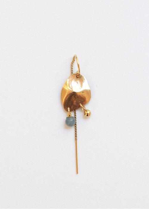 Ørering Jodhi m. blå opal - Leleah