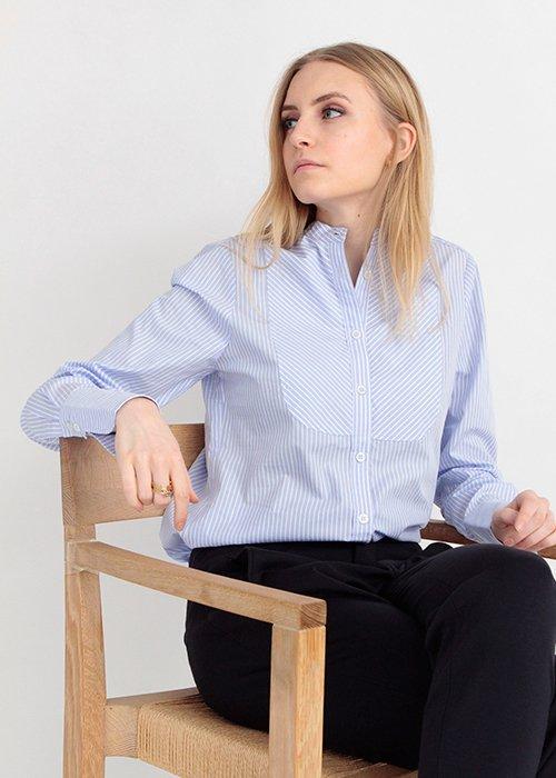Skjorte Nanna stribet - Graumann