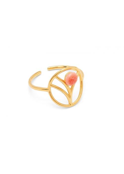 Ring Tree peach - Louise Kragh