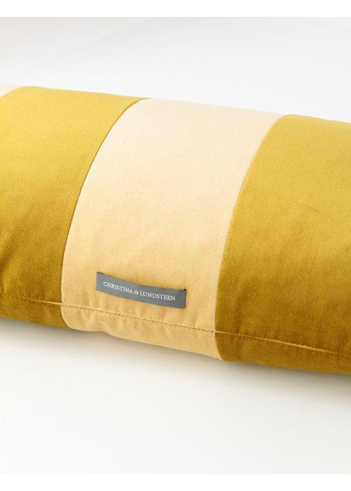 Stipe velvet citrine/golden olive - C. Lundsteen
