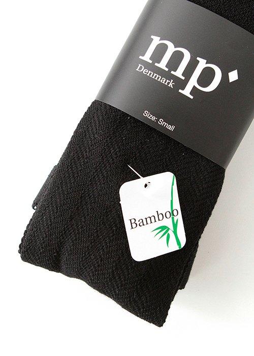 Bamboo strømpebukser sort - MP Strømper