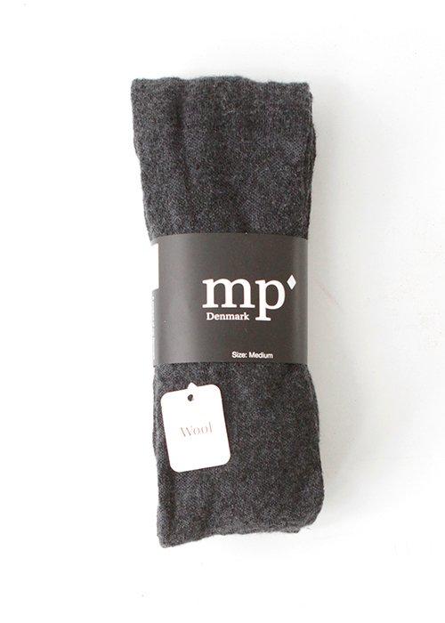 Strømpebuks uld mørkegrå - MP Strømper