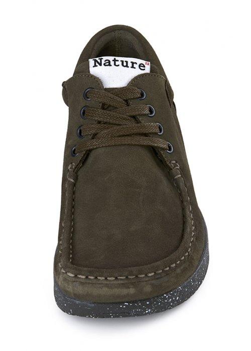 Anna sko ruskind army - Nature