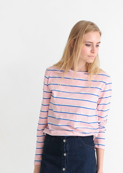 Paris t-shirt coral blush - Nué Notes