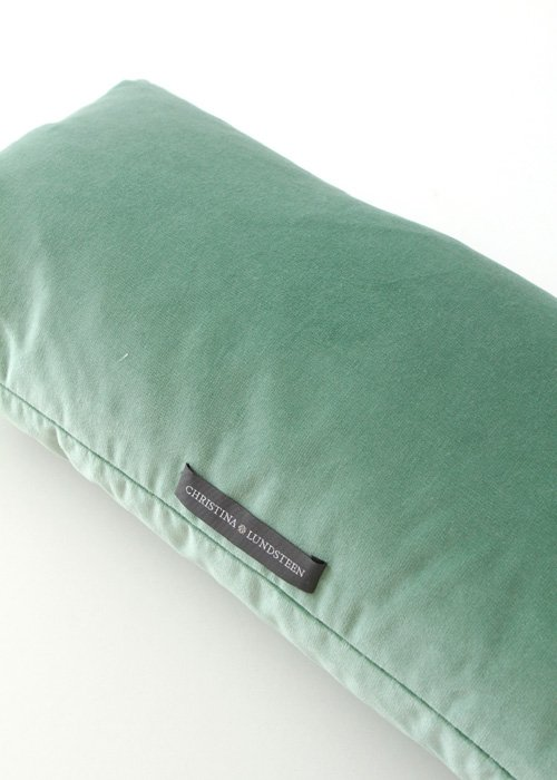 Pude dusty green velvet - Chirstina Lundsteen