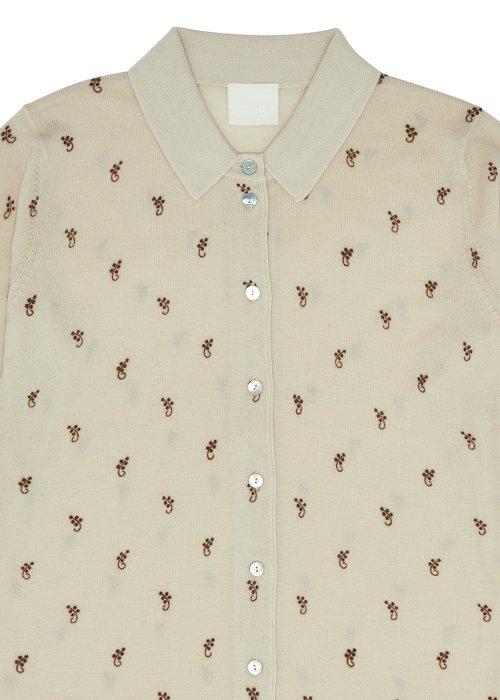 Shirt m. mønster - FUB