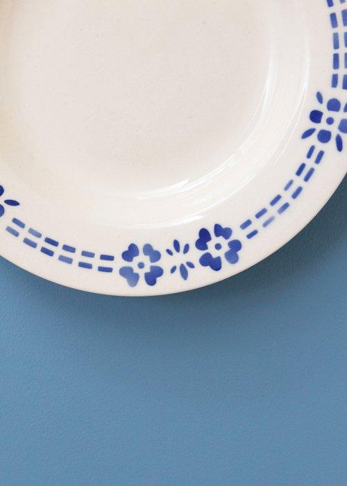Vintage tallerken m. mønster - One of a Kind